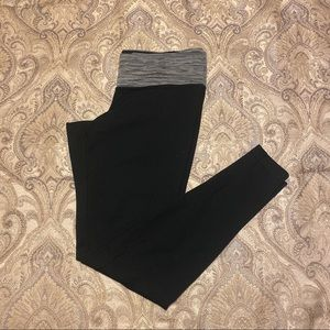 Columbia leggings with marbled gray waistband-Med